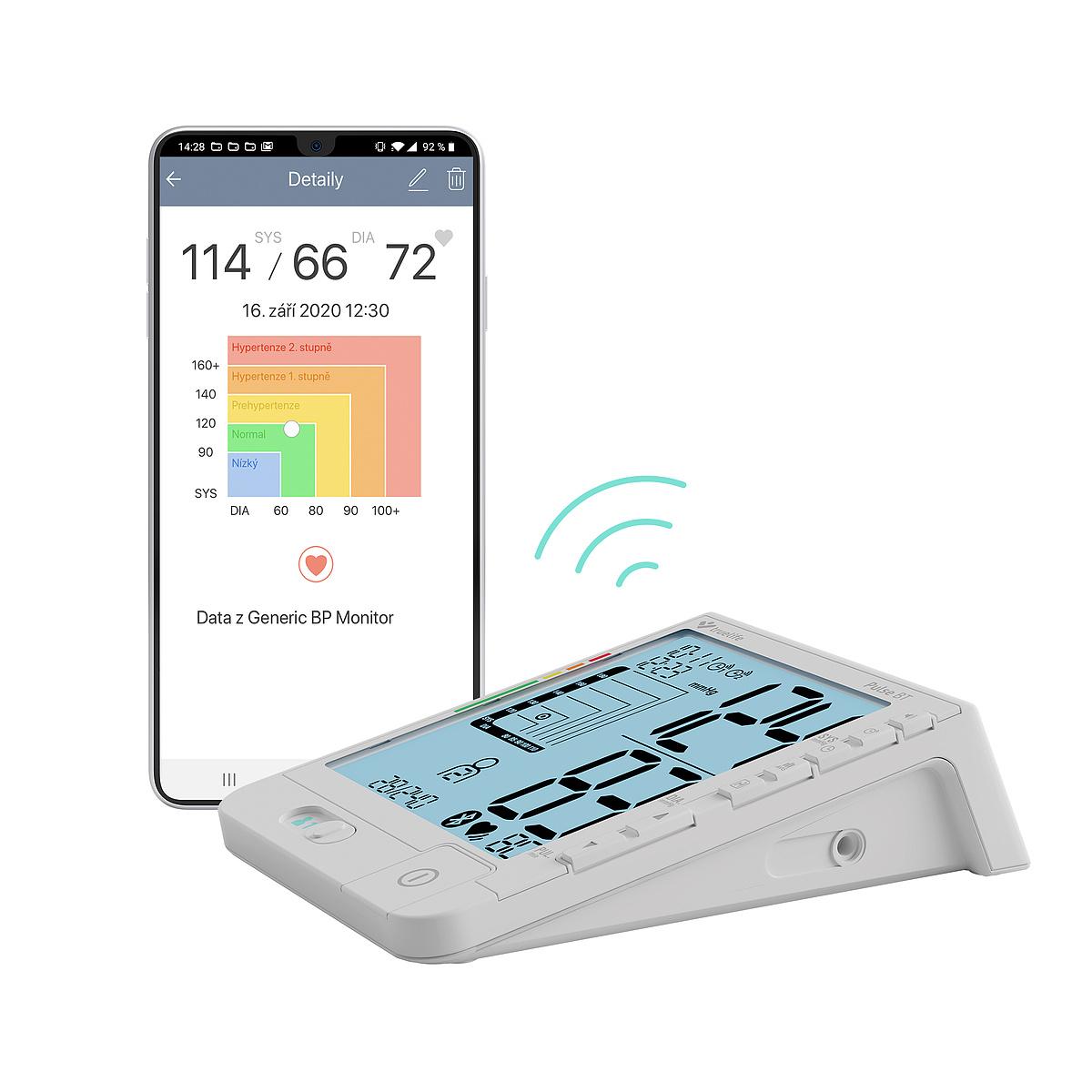 Připojení k aplikaci MedM Health